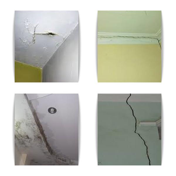 các hiện tượng nứt tường
