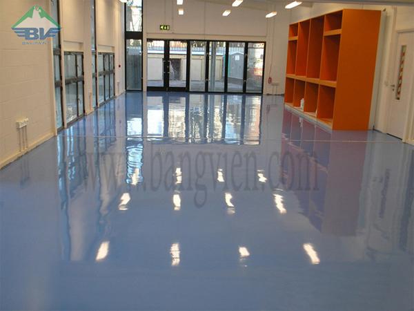 sơn sàn epoxy
